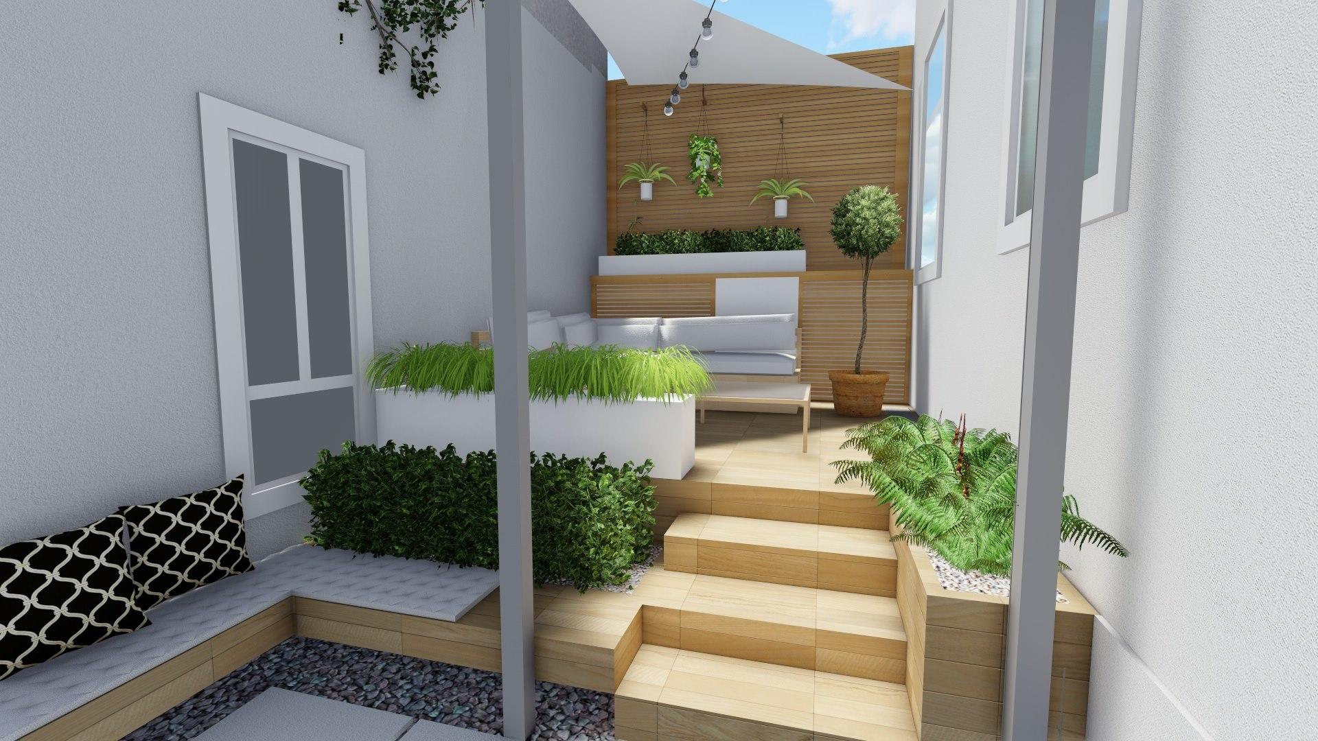 Stilvolle terrassengestaltung von living garden for Gartengestaltung wien