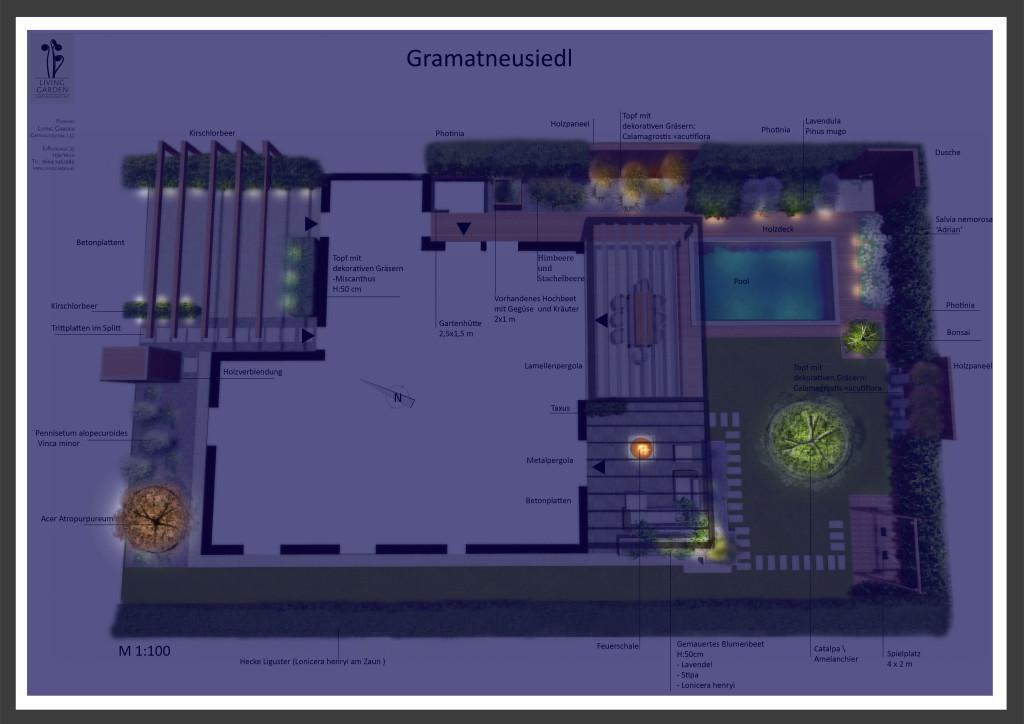 Gartenplan Living Garden