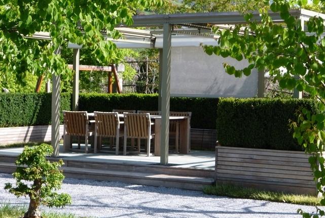 Gartengestaltung mit Pergola