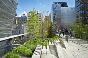 Der Highline Park - grüner Laufsteg New Yorks