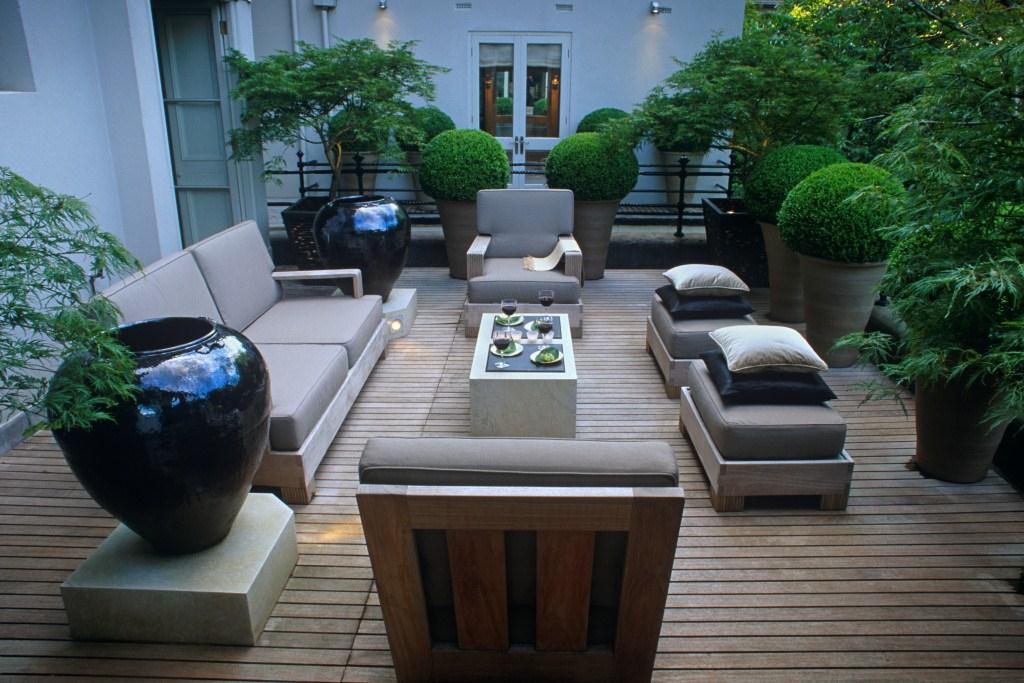 Gestaltung von Terrassen