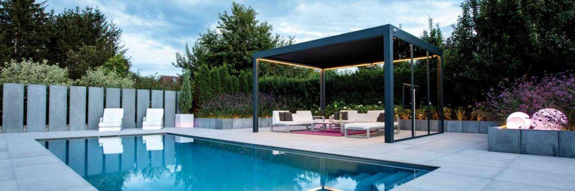 Living pools in der gartengestaltung living garden gartengestaltung mit stil f r jedes budget - Pool zum aufpumpen ...